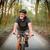 érett · férfi · hegyikerékpározás · kívül · sport · bicikli · férfi - stock fotó © lightpoet