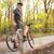 starszy · rowerzysta · człowiek · drogowego · rowerów · patrząc - zdjęcia stock © lightpoet