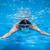 moço · natação · rastejar · piscina · trem - foto stock © lightpoet