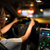 adam · sürücü · modern · araba · gece · şehir - stok fotoğraf © lightpoet