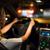 homme · conduite · modernes · voiture · nuit · ville - photo stock © lightpoet