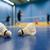 бадминтон · изолированный · белый · фитнес · металл · спортивных - Сток-фото © lightpoet