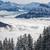 vallée · alpes · hiver · Autriche · ciel · nature - photo stock © lightpoet