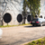 camión · gasolina · carretera · borroso · cielo - foto stock © lightpoet