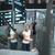 fiatal · női · repülőtér · táblagép · vár · repülés - stock fotó © lightpoet