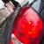 АЗС · насос · заполнение · бензина · зеленый · автомобилей - Сток-фото © lightpoet