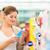 winkelen · cosmetica · vrouw · glimlachende · vrouw · kiezen - stockfoto © lightpoet