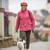 idős · nő · sétál · park · nők · fény - stock fotó © lightpoet
