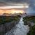 oude · binnenstad · kalksteen · klif · zuiden · kust · corsica - stockfoto © lightpoet