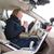 женщину · вождения · автомобилей · женщины · драйвера · колесо - Сток-фото © lightpoet