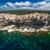 luchtfoto · oude · binnenstad · kalksteen · klif · zuiden · kust - stockfoto © lightpoet