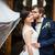 retrato · jovem · casamento · casal · dia · feliz - foto stock © lightpoet