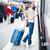 touristischen · warten · Einschiffung · einsamen · Pass · Ticket - stock foto © lightpoet