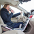 mujer · conducción · coche · femenino · conductor · rueda - foto stock © lightpoet
