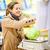 bastante · mulher · jovem · compras · frutas · legumes · belo - foto stock © lightpoet