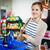 vrouw · betalen · supermarkt · kassa · voedsel - stockfoto © lightpoet
