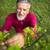 portret · senior · man · tuinieren · tuin · kleur - stockfoto © lightpoet