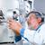 starszy · mężczyzna · badacz · na · zewnątrz · badania · naukowe - zdjęcia stock © lightpoet