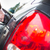 rojo · coche · gasolinera · puerta · energía · poder - foto stock © lightpoet