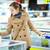 mooie · jonge · vrouw · kopen · store · kleur - stockfoto © lightpoet