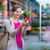 florista · mujer · elegir · flores · jardín · tienda - foto stock © lightpoet