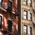öreg · fal · ablakok · koszos · zárva · ház - stock fotó © lightpoet