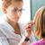 молодые · женщины · пациент · глазах · довольно - Сток-фото © lightpoet