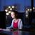 csinos · fiatal · női · főiskolai · hallgató · asztali · számítógép · asztali - stock fotó © lightpoet
