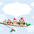 oiseau · famille · chapeau · illustration · fil - photo stock © lilac