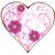 cuori · floreale · scorrere · set · fiore · fogliame - foto d'archivio © lilac