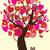バレンタイン · フクロウ · 画像 · 雲 · デザイン · 葉 - ストックフォト © lilac