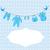 bebek · duş · elemanları · renkli · beyaz · eps - stok fotoğraf © lilac