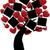 дерево · сердцах · вектора · любви · сердце · фон - Сток-фото © lilac