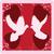 galambfélék · vektor · kép · esküvő · dizájnok · szeretet - stock fotó © lilac