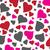 sin · costura · colorido · corazones · patrón · día · resumen - foto stock © lilac