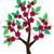 силуэта · дерево · искусства · завода · обратить - Сток-фото © lilac