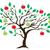 elma · ağacı · siluet · beyaz · düzenlenebilir · gökyüzü · doğa - stok fotoğraf © lilac