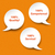 speech bubbles quality service competence stock photo © limbi007