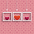 frames 3 colored hearts ornaments stock photo © limbi007