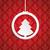 Natale · modello · blu · eps · design - foto d'archivio © limbi007
