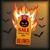 halloween price sticker with bats stock photo © limbi007