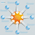 paper 8 arrows blue orange buttons stock photo © limbi007