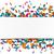 biały · papieru · banner · konfetti · kolorowy · eps - zdjęcia stock © limbi007