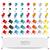 conjunto · colorido · branco · escritório · projeto - foto stock © limbi007