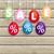vrolijk · pasen · voorjaar · stickers · stijl · collectie · seizoen- - stockfoto © limbi007