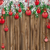 クリスマス · 赤 · 雪 · カバー - ストックフォト © limbi007