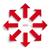conjunto · ícones · branco · aplicativo · botões - foto stock © limbi007