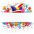 carnevale · banner · colorato · palloncini · confetti · carta - foto d'archivio © limbi007