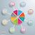 gekleurd · versnellingen · grijs · business · ontwerp · technologie - stockfoto © limbi007