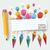 キャンディ · バナー · 風船 · 学校 · チラシ - ストックフォト © limbi007
